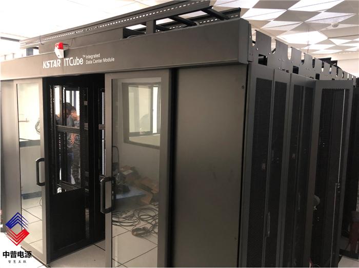 2020年8月南京安居集团-16机柜冷通道